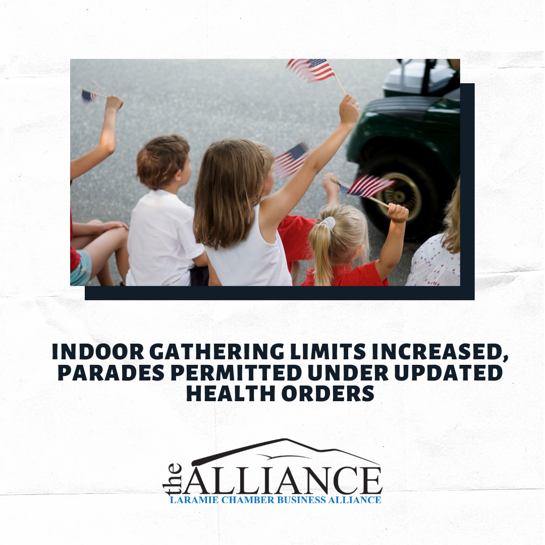 Indoor gathering limits increased, parades permitted under updated health orders