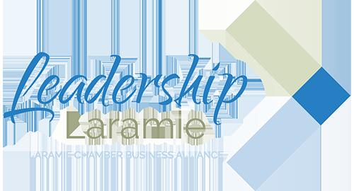 Logo image for the Leadership Laramie program, sponsored by the Laramie Chamber Business Alliance
