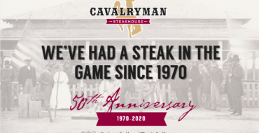 The Cavalryman Steakhouse to Celebrate 50 Years in March