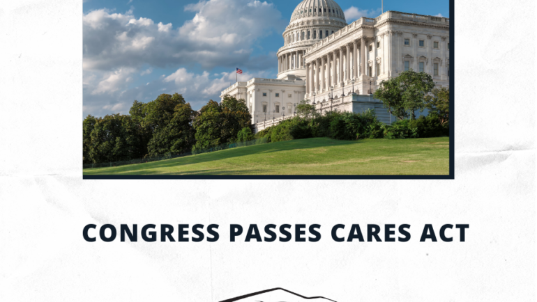 Congress Passes CARES ACT